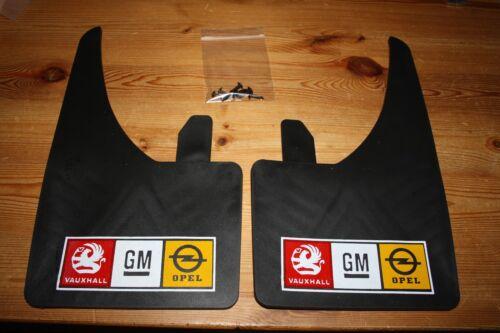 Gm Vauxhall opel logo universal Mudflaps  nova corsa  c20 let vectra astra