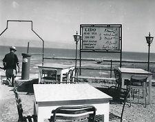 JORDANIE c. 1960 - Terrasse Plage du Lido  Mer Morte  - Div 10179