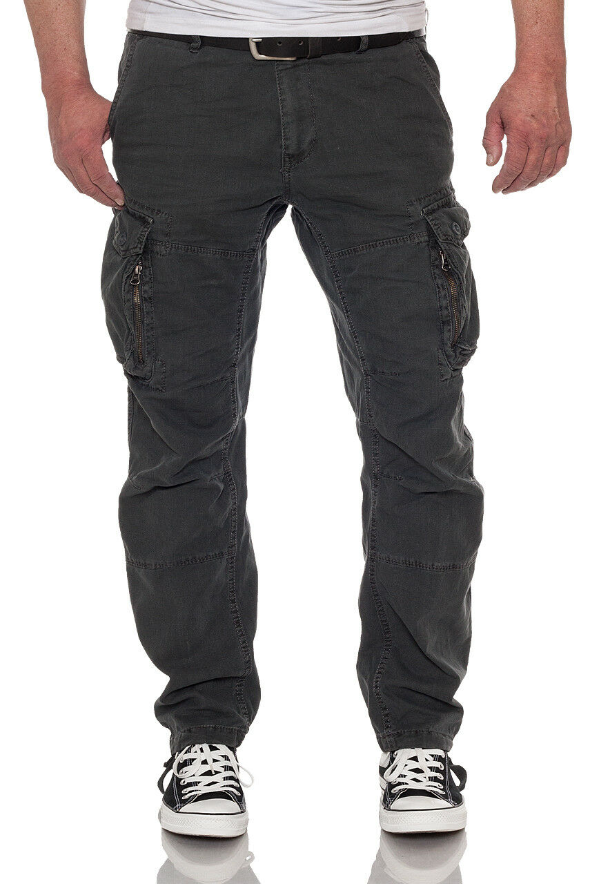 JET lag uomo Cargo Pant 17-274 17-274 17-274 Casual outdoorhose tasche laterali Relaxed 8a09f7