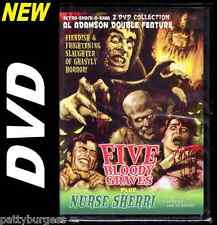 Classic/Retro Horror Double Feature (DVD) 5/Five Bloody Graves/Nurse Sherri