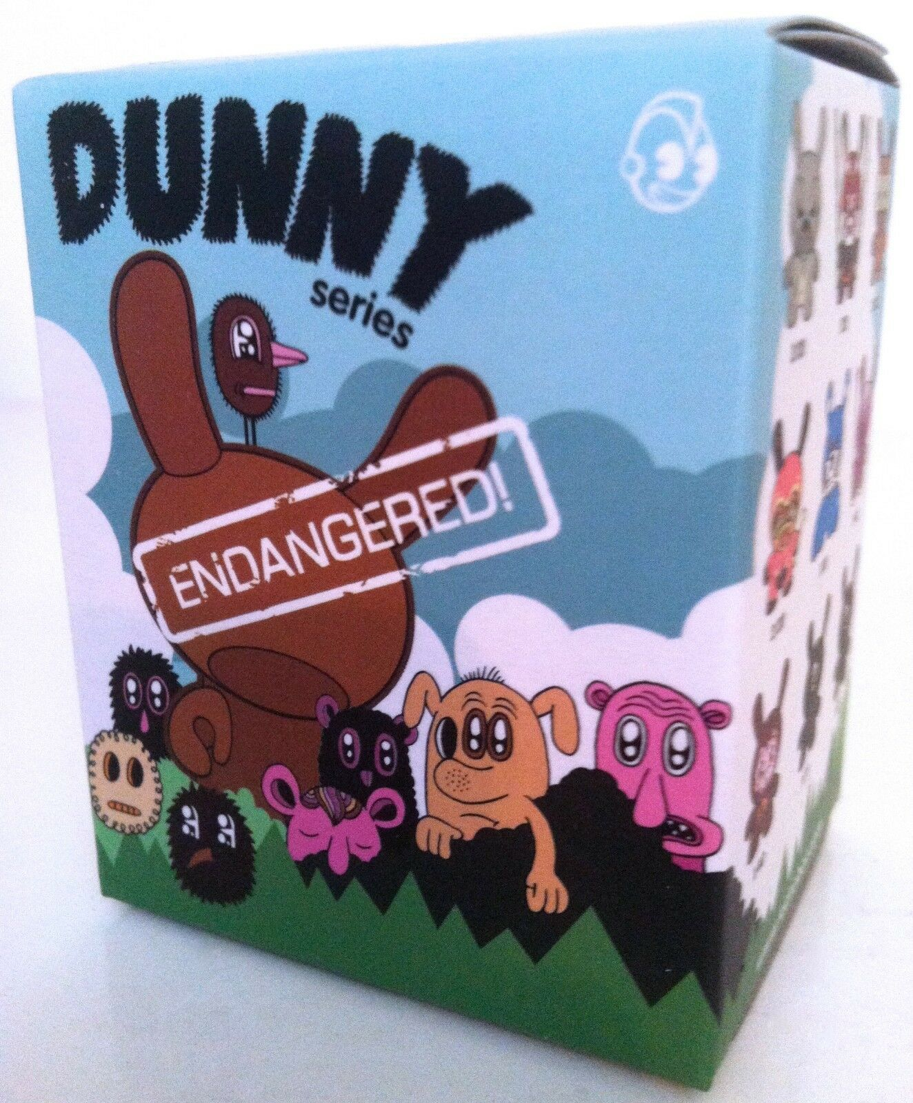 DUNNY 3  ENDANGERED SERIES MISB SEALED BLIND BOX KIDROBOT TOY COLLECTIBLE FIGURE