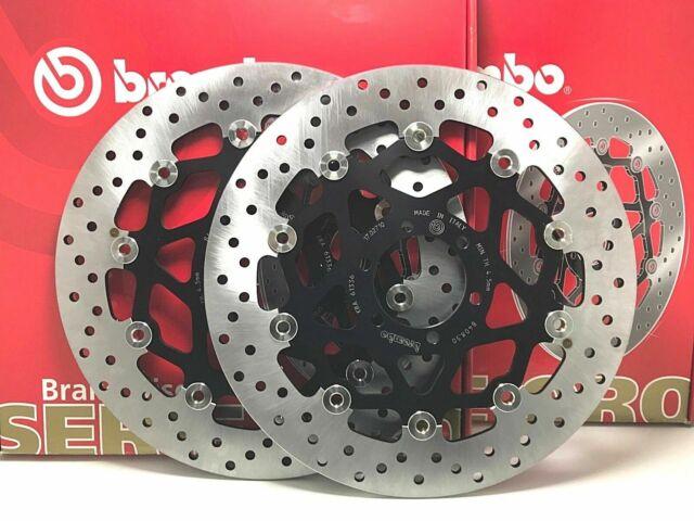 Ducati Monster 620 Ie 2005 2006 Pair Brake Discs Front Brembo Serie Oro