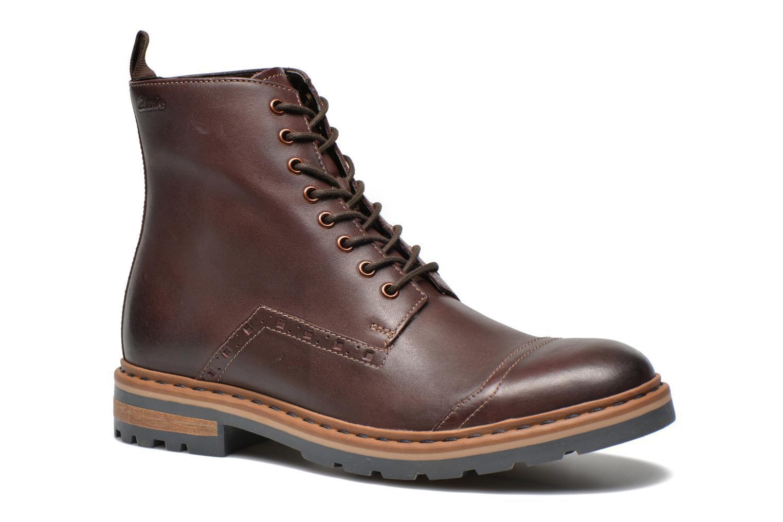 Clarks  Mens  DARGO RISE  SMART SMART SMART & TRENDY CHESTNUT Stiefel  UK 6,7,8,9,10,11  f6642f