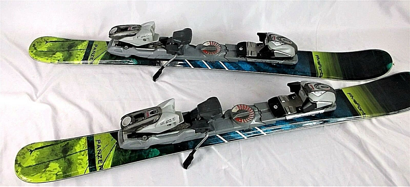 FiveForty Panzer SkiBlades, 99CM, New, w Used MARKER Step-In Adjustable Bindings