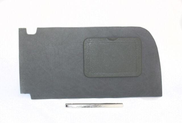 Mercedes W107 560sl 450sl 380sl Gray Fuse Box  Kick Panel Cover Post Chrome