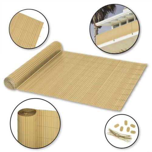 Details about  /Privacy Protection Mat Fence Sight Protection PVC 1,4 x 3 M Bamboo Ribelli B-Ware Green te Zaunsichtschutz PVC  1,4 x 3 m bambus Ribelli B-Ware Vorführer data-mtsrclang=en-US href=# onclick=return false; show original ti