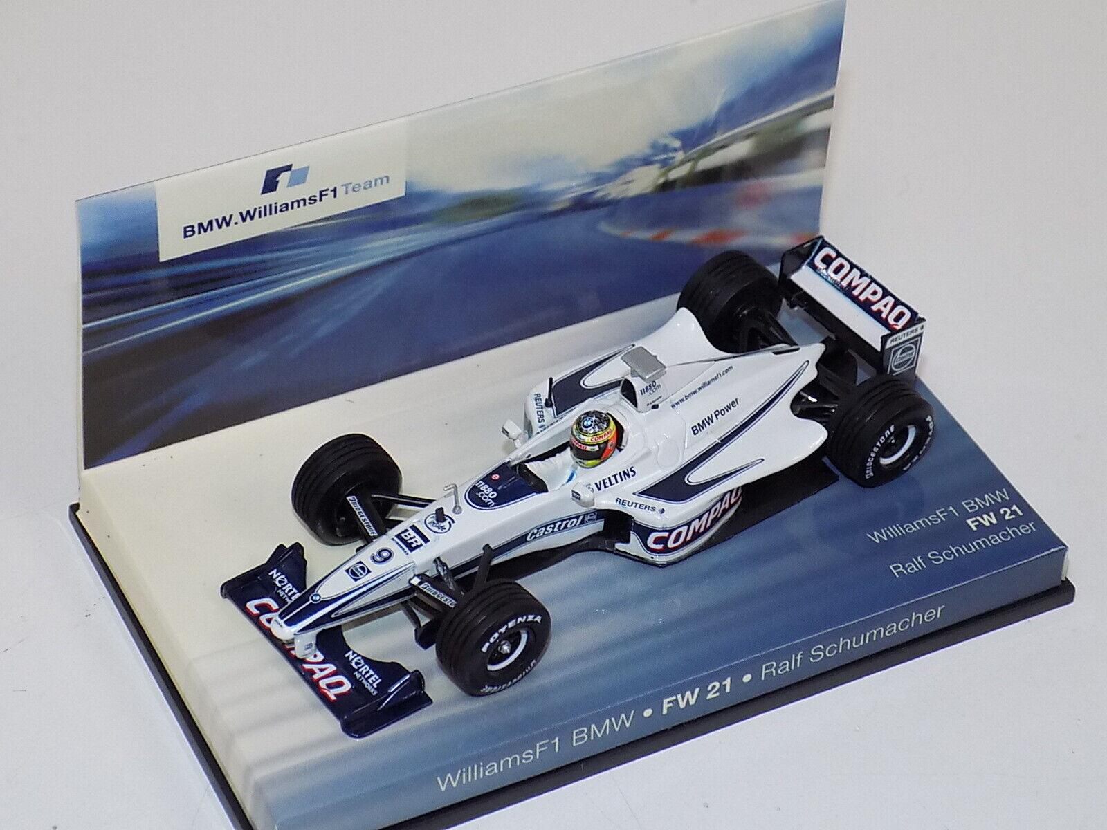 1 43 Minichamps F1 Williams BMW FW21 Ralf Schumacher BMW edition