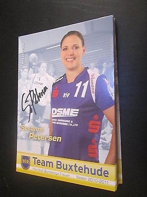 50343 Friederike Lütz BSV Buxtehude Handball original signierte Autogrammkarte
