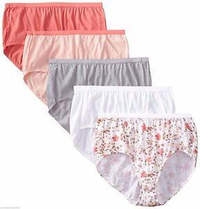 cd42ee96495 Details about 4 OR 10 Bulk Womens full brief underwear 100% cotton plus size  M-XXXL
