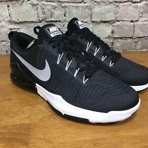 Details about Men's Nike Zoom Train Action Training Shoes Black / Silver Sz  9 852438 003