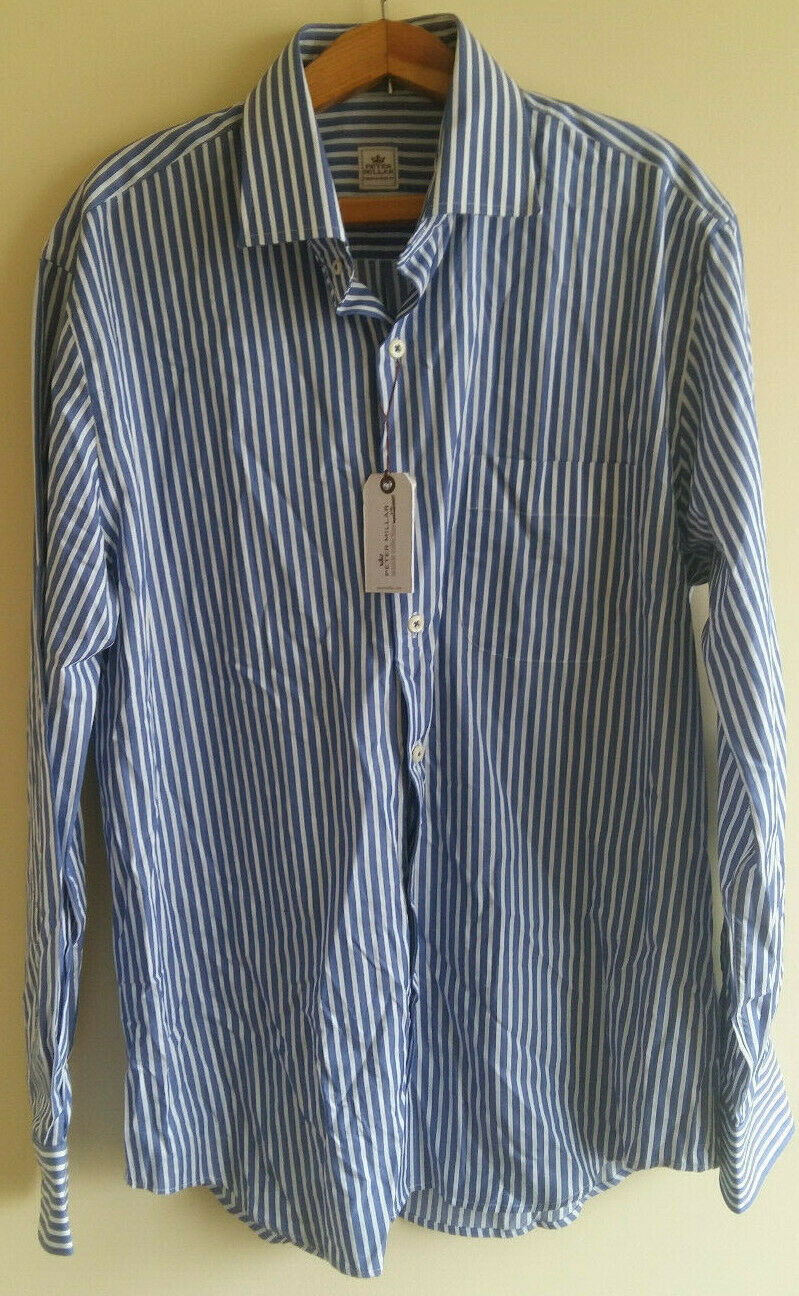 NEW Peter Millar Seaside Collection Button-Front Shirt Men's Large