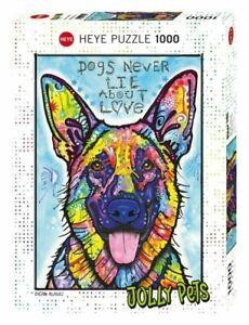 Heye-Puzzles-1000-Pieces-Jigsaw-Puzzle-Chiens-jamais-mensonge-HY29732