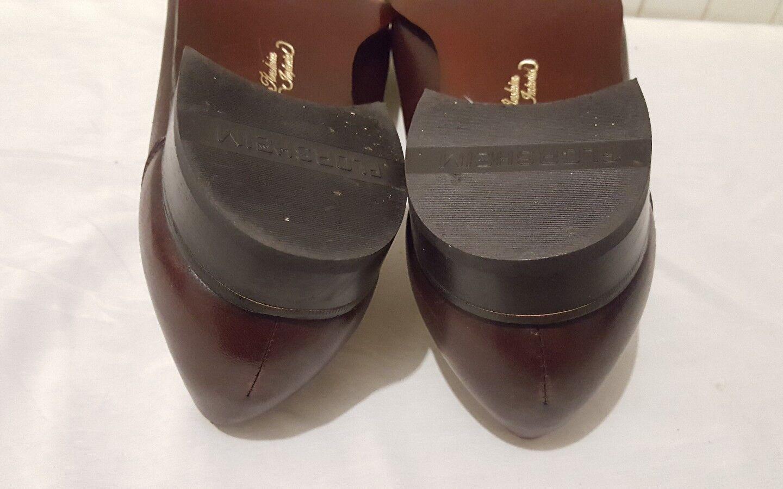 Vintage Florsheim Imperial Mens Como Slip On Loafer Loafer Loafer Dress schuhe braun Sz 8.5 ea70ca