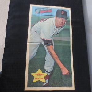 Verzamelkaarten: sport 1968 Topps Game #14 Jim Lonborg Boston Red Sox Baseball Card Honkbal
