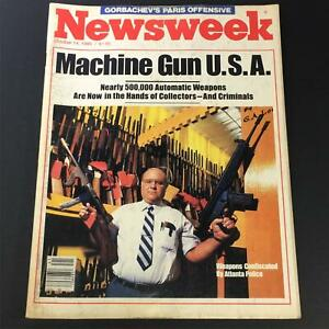 VTG-Newsweek-Magazine-October-14-1985-Weapons-Confiscated-by-Atlanta-Police