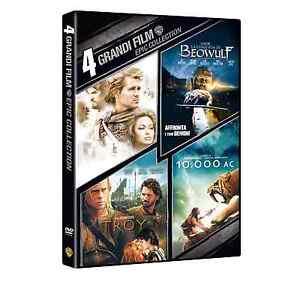 troy dvd italiano  EPIC COLLECTION - 4 GRANDI FILM (4 DVD) TROY/ BEOWFUL/... COF. UNICO ...