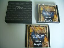 VERDI COFFRET LUXE 2 CD RIGOLETTO WIENER PHILHARMONIKER CARLO MARIA GIULINI .