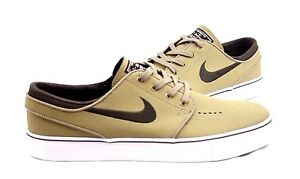super popular 95357 a0153 Image is loading Nike-Mens-SB-Zoom-Stefan-Janoski-Leather-Khaki-