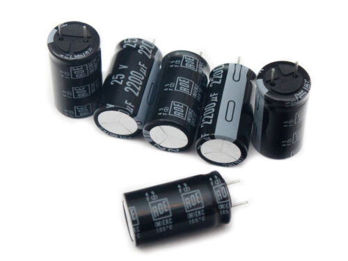 Roederstein EKC Aluminium Electrolytic Capacitors Low Impedance 105/'C