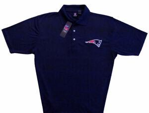 New-England-Patriots-NFL-Stadium-Sideline-Navy-Polo-Shirt-Men-039-s-Sizes-NWT