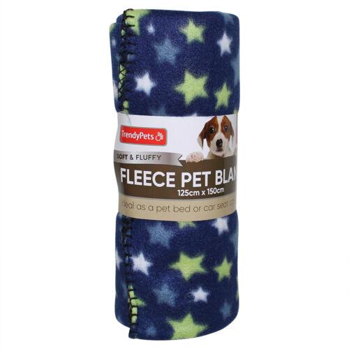 NEW Large Polar Fleece Pet Blanket 125x150cm Cat Dog Winter Seasonal