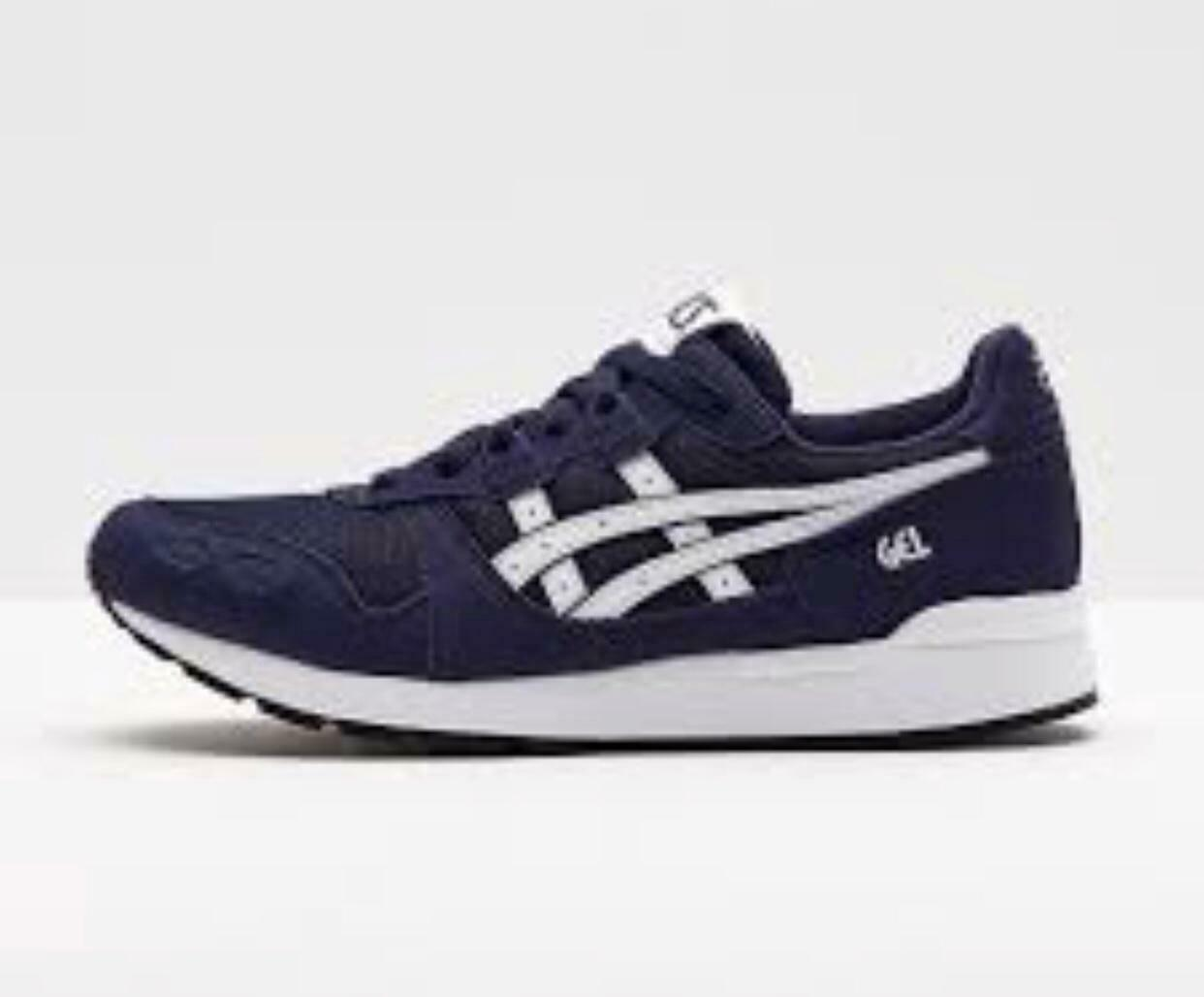 Mens Size 9.5 US ASICS TIGER GEL-LYTE 1193A026-400 NEW IN BOX Peacoat  White
