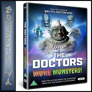 THE-DOCTORS-MORE-MONSTERS-BRAND-NEW-DVD