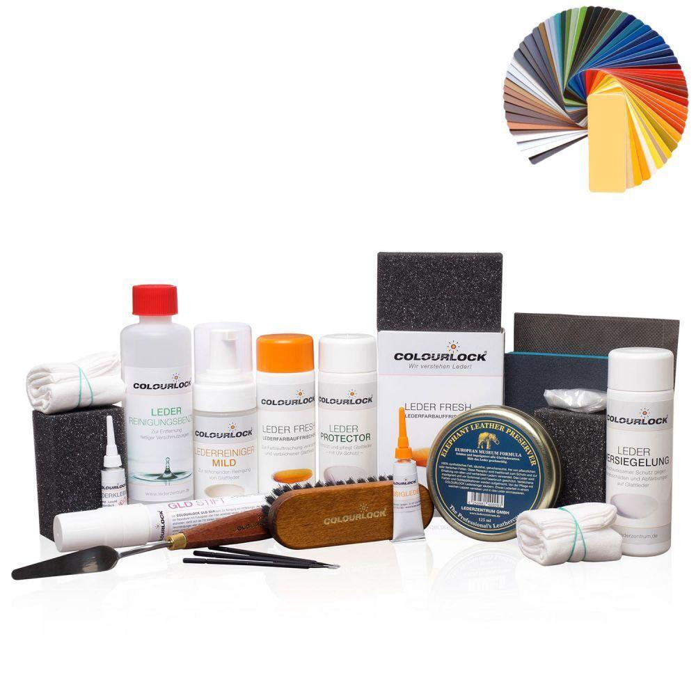 COLOURLOCK® Lederreparatur Komplettset stark Erpo Select 990 weiß weiß weiß 1da0bc