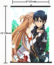 Hot Anime Sword Art Online Wall Poster Scroll Home Decor Cosplay 824