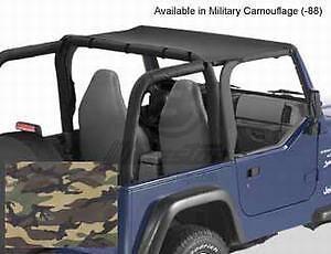 Bestop-52525-88-Bikini-Tops-Military-Camo-Header-fits-1997-2002-Jeep-Wrangler