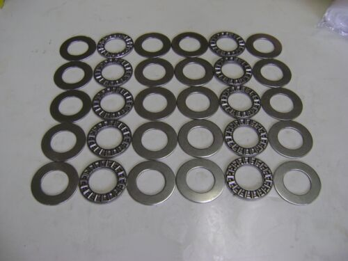 10 AXK1730 Thrust Needle Roller Bearings 17x30x2 mm With Washers A51