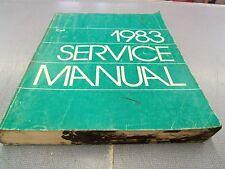 1983 DODGE COLT MOPAR  SERVICE SHOP REPAIR MANUAL ORIGINAL! FREE Shipping!!!