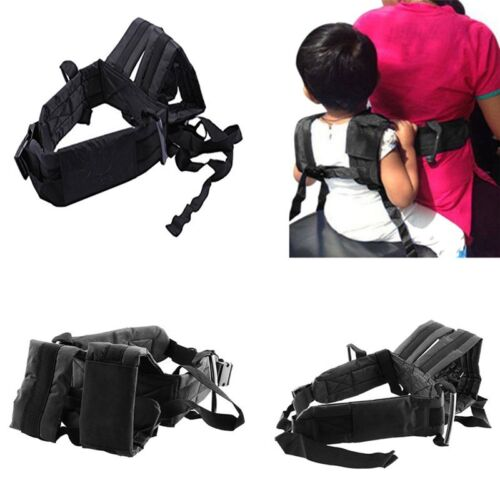 Children Motorcycle Seat Safety Harness Strap Back Support Belt Protective Gear