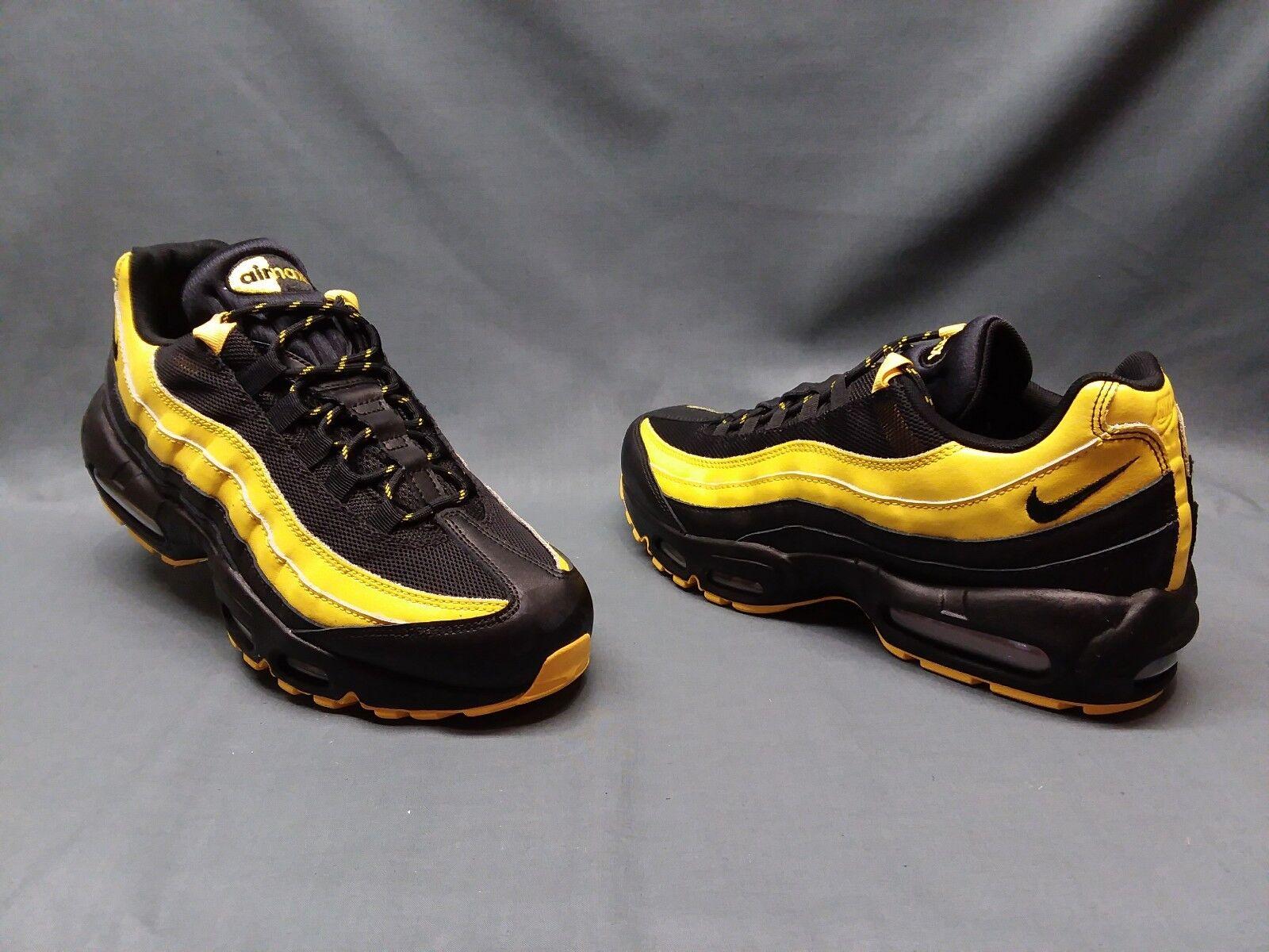 Nike frequenz air max 95 frequenz Nike  packen an schwarz - gelb 11 nwob! 5edffc