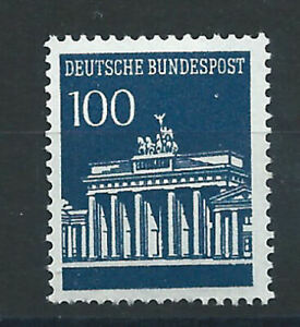 Allemagne-RFA-N-371A-MNH-1966-67-Porte-de-Brandebourg