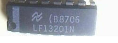 NS LF13201N DIP-16 Quad SPST JFET Analog Switches
