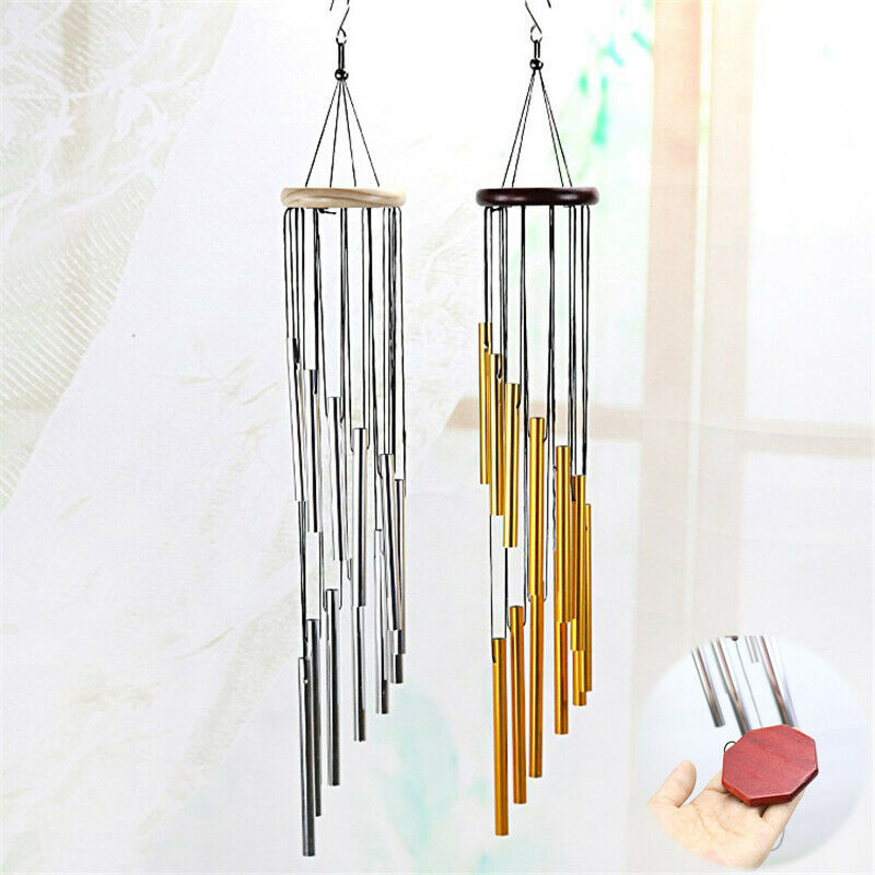 Large Deep Tone Windchime Chimes Outdoor Chapel Large Bell Wind Garden Home