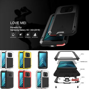 new arrival 97258 c20bb Details about Heavy Duty Metal Aluminum Waterproof Case Cover for Samsung  Galaxy A6 / A6+ 2018