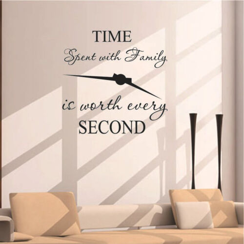 time spent with family is worth every second art wall stickers home decalsSw HF