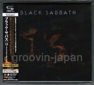 Sealed-BLACK-SABBATH-13-JAPAN-ONLY-2SHM-CD-Deluxe-w-Bonus-Obi-UICN-1034-5