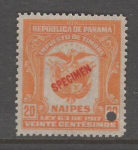 Panama-Cinderella-revenue-fiscal-Stamp-10-30-gum