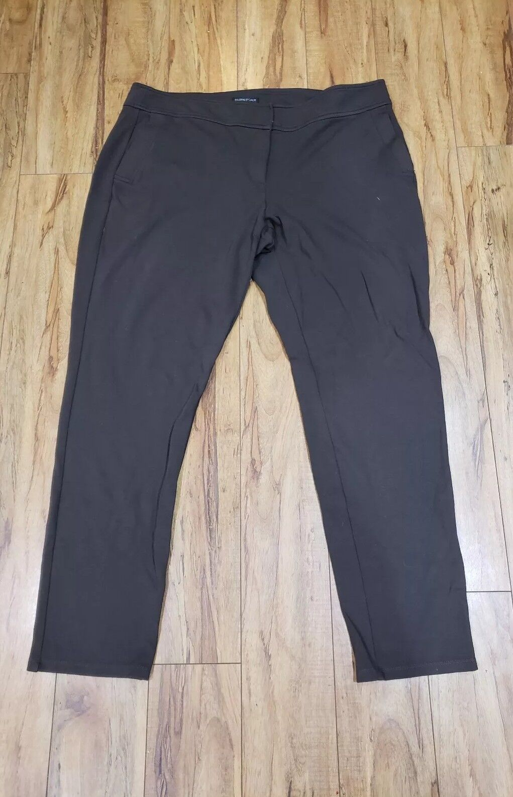 Eileen Fisher Brown Casual Pants Women Size Large L