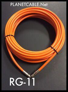 300 FT RG11 COAXIAL UNDERGROUND CABLE DROP INDOOR//OUTDOOR w Gel COAX RG 11 300/'