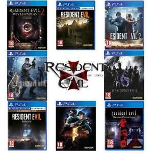 Resident-Evil-PS4-Game-Biohazard-Gold-Revelations-Origins-Remake-2-4-5-6-7-NEW