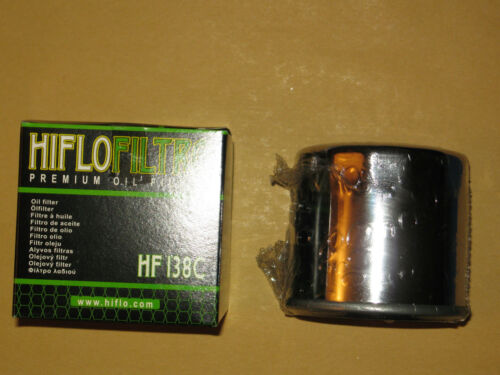 Ölfilter Hiflo chrom  Suzuki GSX 1300 B-King *NEU*