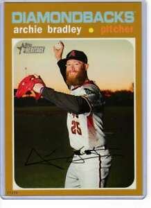 Archie-Bradley-2020-Topps-Heritage-5x7-Gold-217-10-Diamondbacks