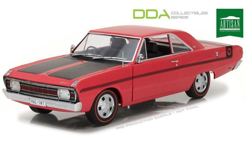 1 18 1970 Chrysler Valiant VG Pacer 245 (röd) DDA \35;DDA07