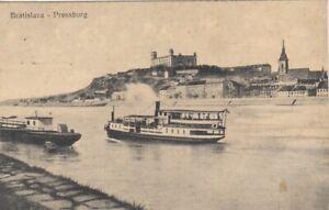 Bratislava, Pressburg, mit Schlossberg gl1923 F4792