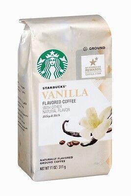 Starbucks Natural Fusions Vanilla Ground Coffee, 11 oz