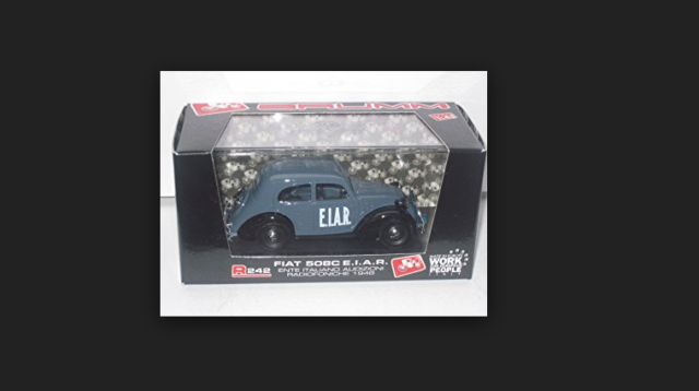 Fiat 508C E.I.A.R. 1948 R242 1/43 Brumm made in italy